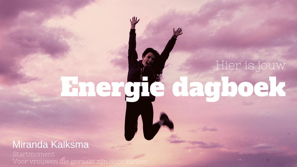 Startmoment energie dagboek