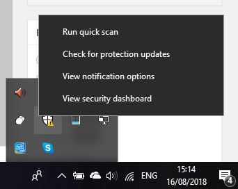 How to exclude Mozilla Thunderbird from Windows 10 Defender Anti