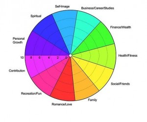 excel spider diagram gez im monat wheel of life - a self-assessment tool the start happiness