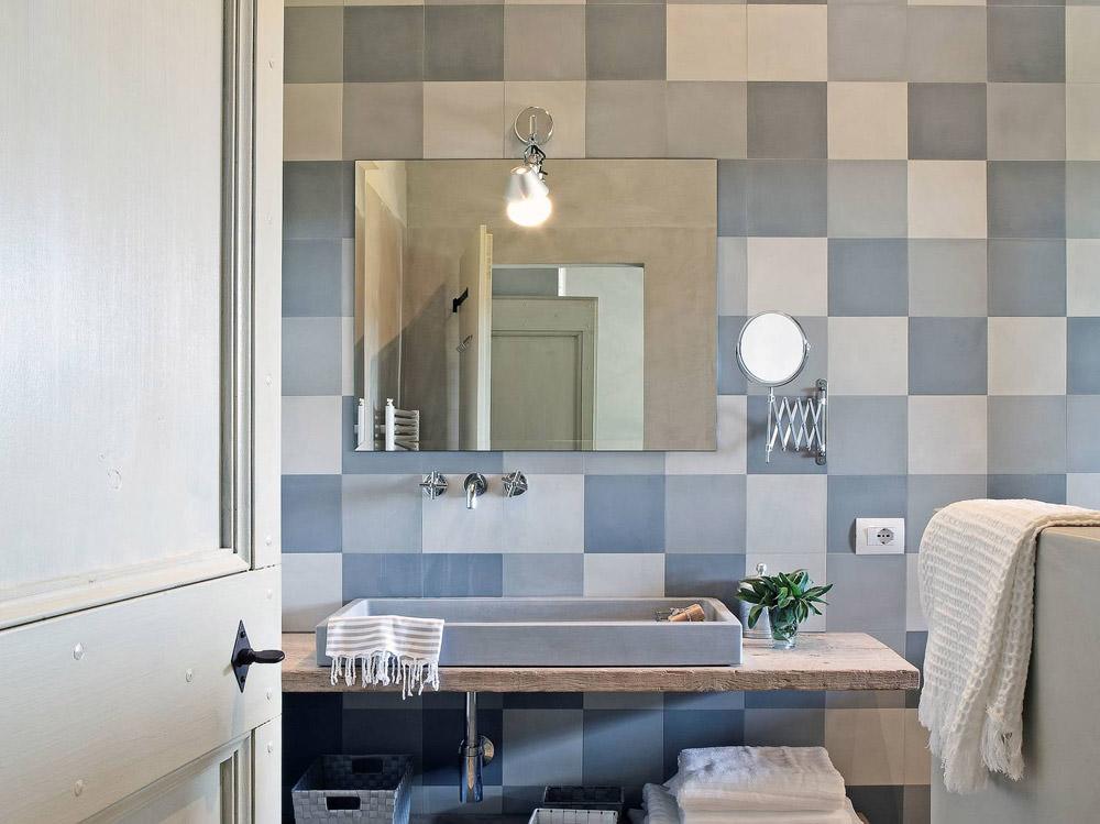 40 idee per un bagno blu e bianco  Design e abbinamento colori per la ristrutturazione bagno