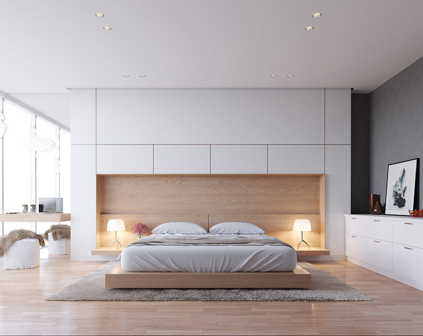 Ispirazione per una camera da letto moderna sponsorizzato. Illuminazione Camera Da Letto Guida 25 Idee Per Illuminare Al Meglio Camere Da Letto Moderne Start Preventivi