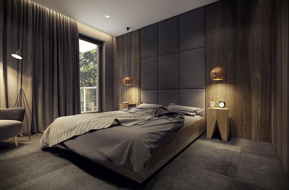 Trova il tuo stile e crea il design della tua camera da letto da sogno,. Stupendo appartamento moderno, elegante e drammatico