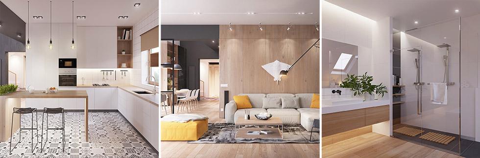 Far comunicare stili e arredi diversi è possibile in nome dell'armonia. Originale Appartamento In Stile Scandinavo Moderno Ed Elegante Arredamento Casa Moderna Start Preventivi