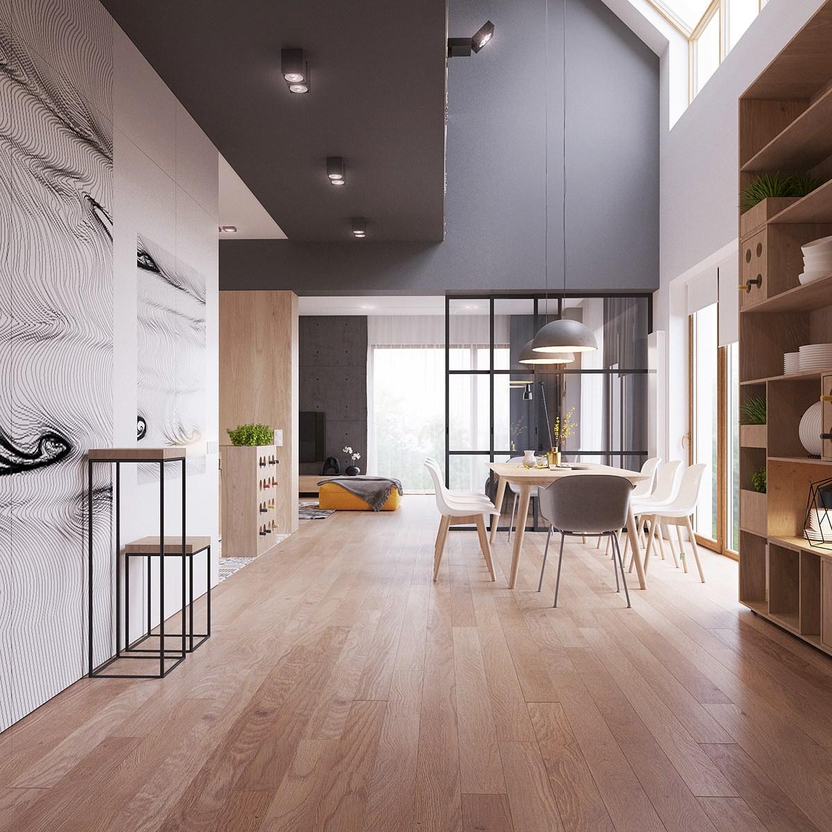 Indecise se scegliere uno stile moderno o vintage per la vostra nuova casa o per il cambio dei mobili? Originale Appartamento In Stile Scandinavo Moderno Ed Elegante Arredamento Casa Moderna Start Preventivi