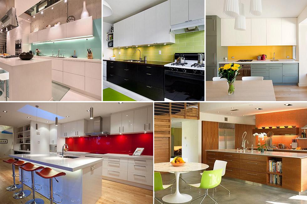 Colore paraschizzi cucina  50 idee per una cucina moderna