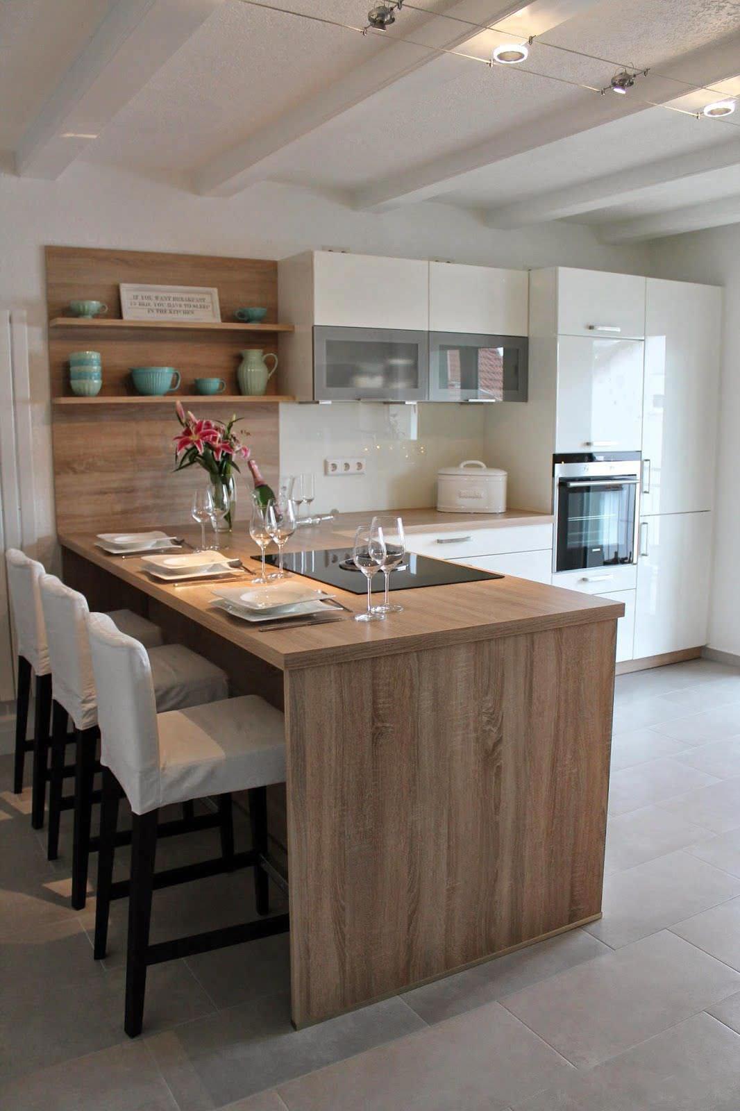100 idee cucine moderne da sogno  Con isola ad U open space  Colori cucina moderna piccola