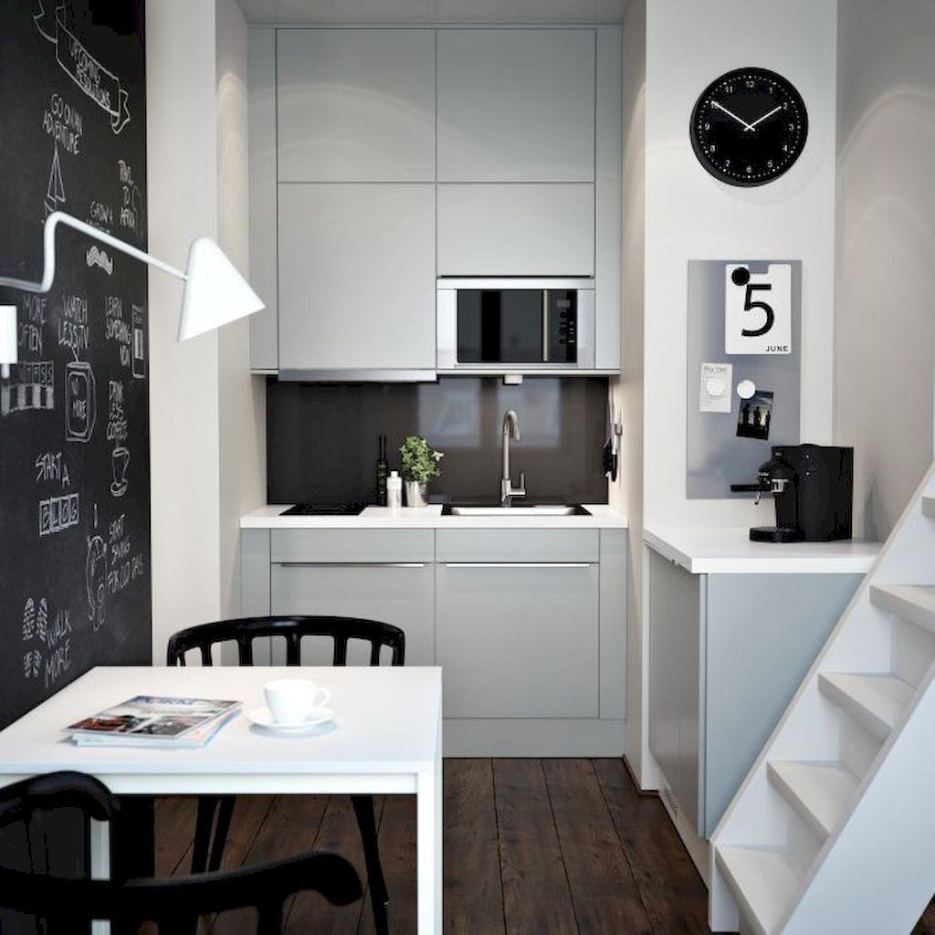 Pensi che una cucina piccola o magari proprio mini, non possa essere anche glamour, forse è il caso. 50 Idee Cucine Piccole Moderne Con Isola Ad U Open Space Arredare Cucina Piccola Start Preventivi