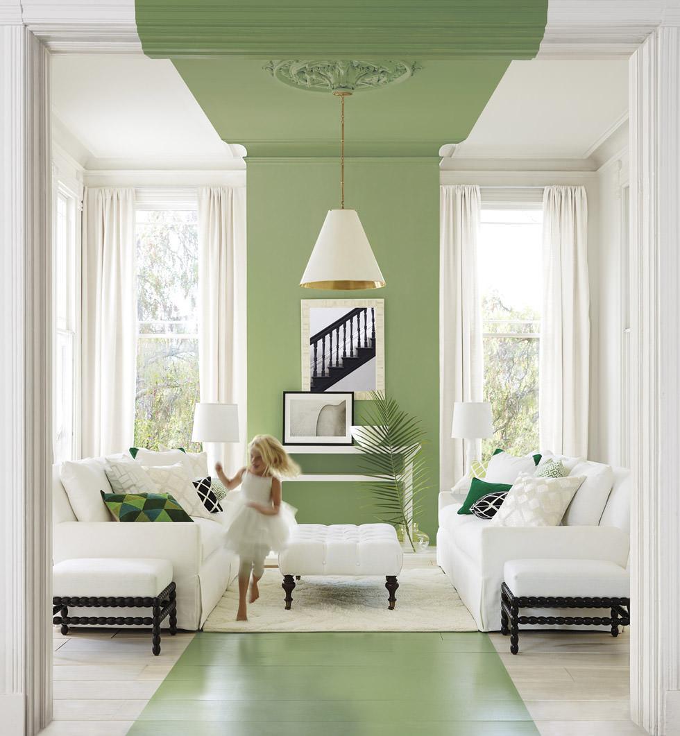 Imbiancare casa  Colori di tendenza per ogni stanza