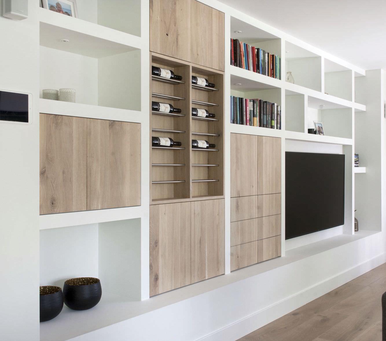 La soluzione ideale per un soggiorno moderno ed elegante. Parete Attrezzata In Cartongesso Per Il Soggiorno Info Prezzi E 40 Idee Moderne Start Preventivi