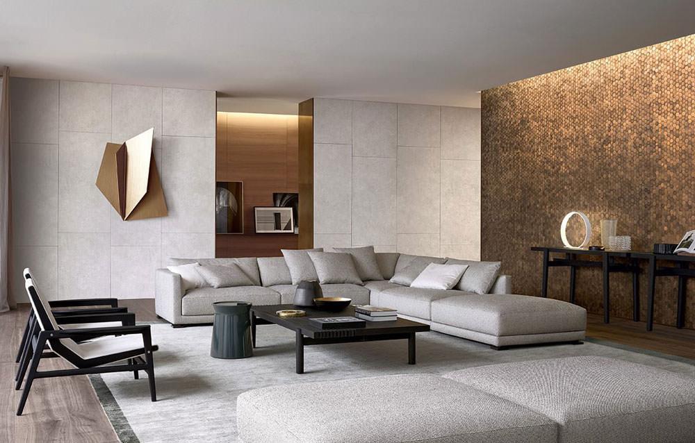 Soggiorno moderno  100 Idee per il salotto perfetto  Arredo colori pareti mobili soggiorni