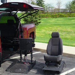 Wheelchair Lift For Truck Mid Century Office Chair All Terrain Conversions Atc 45 Degree Platform Conversion