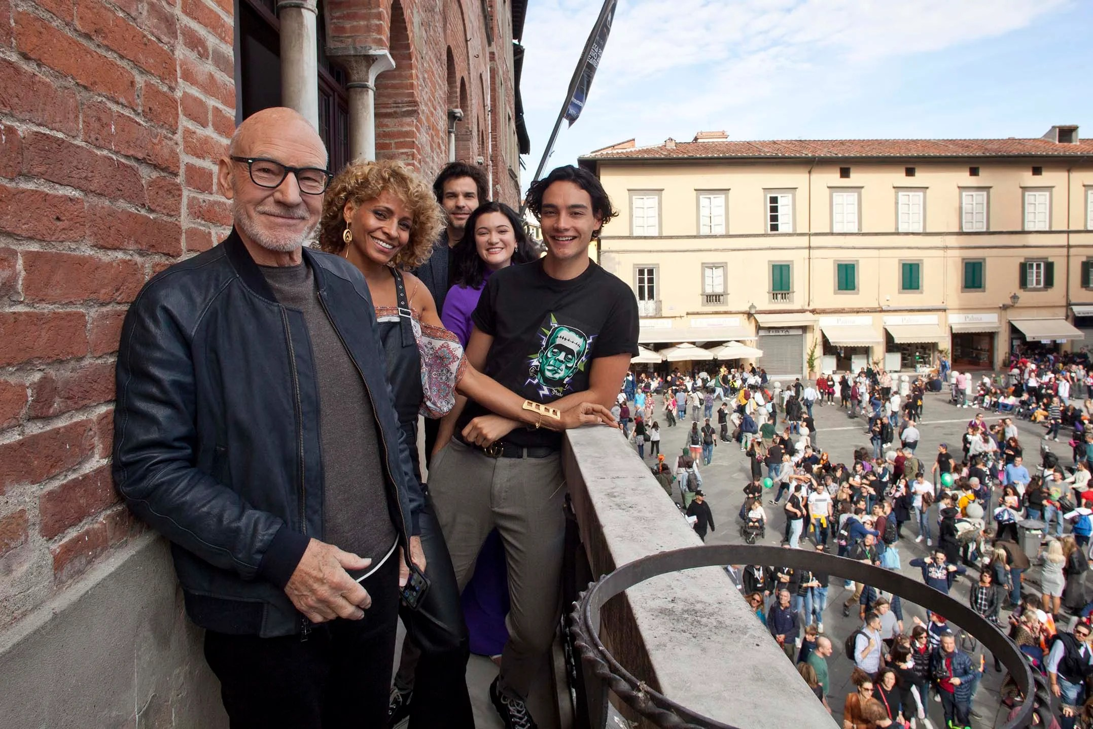 The Star Trek Picard Cast Appears At Lucca Comics And