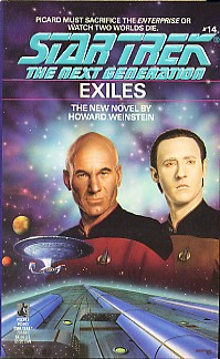 """Star Trek: The Next Generation: 14 Exiles"" Review by Deep Space Spines"