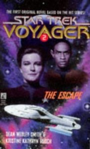 "412XCF654CL. SL500  181x300 ""Star Trek: Voyager: 2 The Escape"" Review by Trek Lit Reviews"