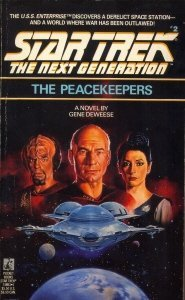"41NJNSTBX5L. SL500  185x300 ""Star Trek: The Next Generation: 2 The Peacekeepers"" Review by Trek Lit Reviews"