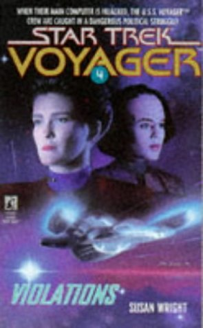 Star Trek: Voyager: 4 Violations Review by Deepspacespines.com
