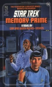 "5170J6GB57L. SL500  178x300 ""Star Trek: 42 Memory Prime"" Review by Deep Space Spines"