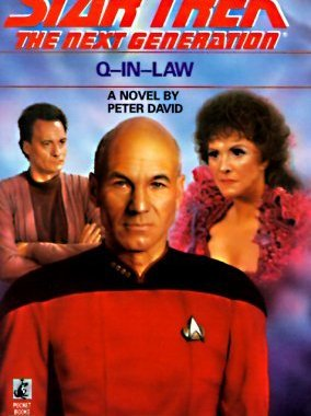 """Star Trek: The Next Generation: 18 Q-In-Law"" Review by Deep Space Spines"