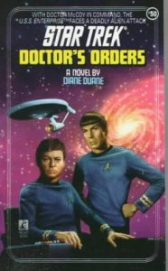 "51E8EVPZYWL. SL500  186x300 ""Star Trek: 50 Doctor's Orders"" Review by Deep Space Spines"