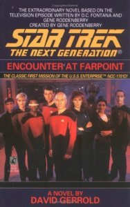 "51V0JP483SL. SL500  188x300 ""Star Trek: The Next Generation: Encounter At Farpoint"" Review by Deep Space Spines"