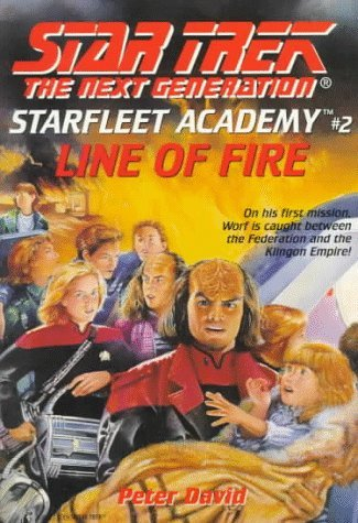 Star Trek: The Next Generation: Starfleet Academy: 2 Line of Fire Review by Deepspacespines.com