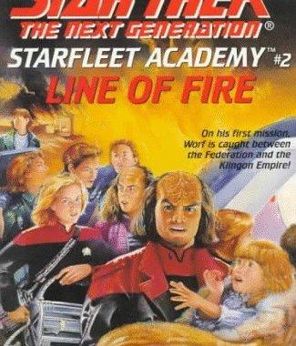 """Star Trek: The Next Generation: Starfleet Academy: 2 Line of Fire"" Review by Deepspacespines.com"
