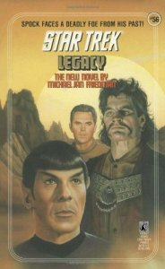 "51g7o5mJnwL 184x300 ""Star Trek: 56 Legacy"" Review by Deep Space Spines"