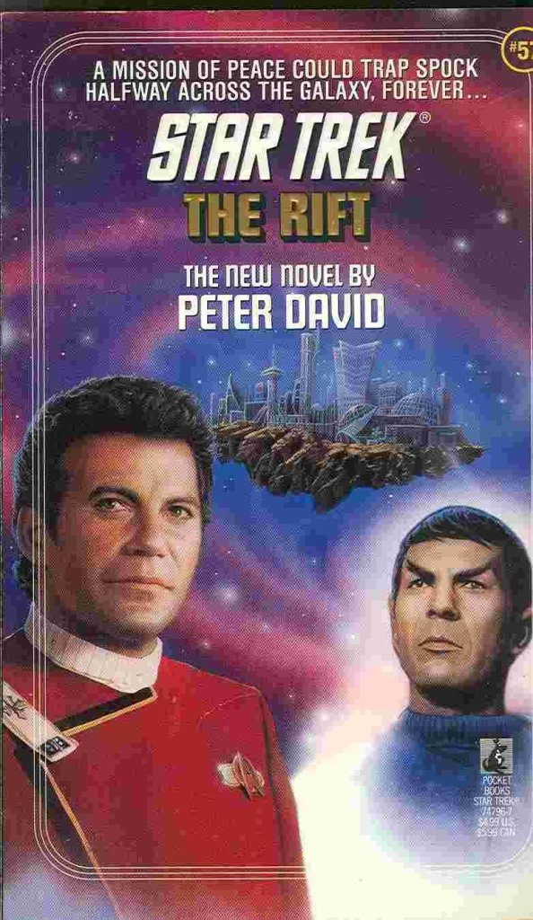 "61ChlMXfUHL 594x1024 ""Star Trek: 57 The Rift"" Review by Deep Space Spines"