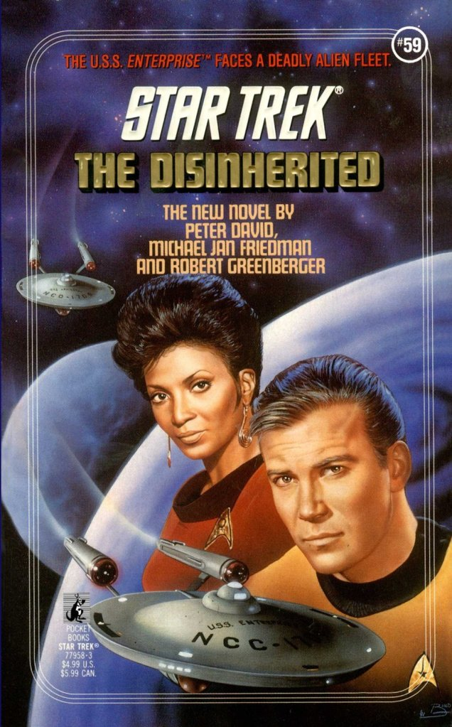 Star Trek: 59 The Disinherited Review by Deepspacespines.com