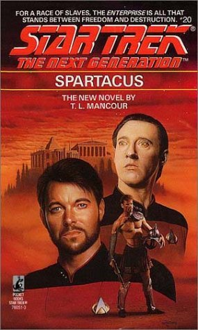 Star Trek: The Next Generation: 20 Spartacus Review by Deepspacespines.com