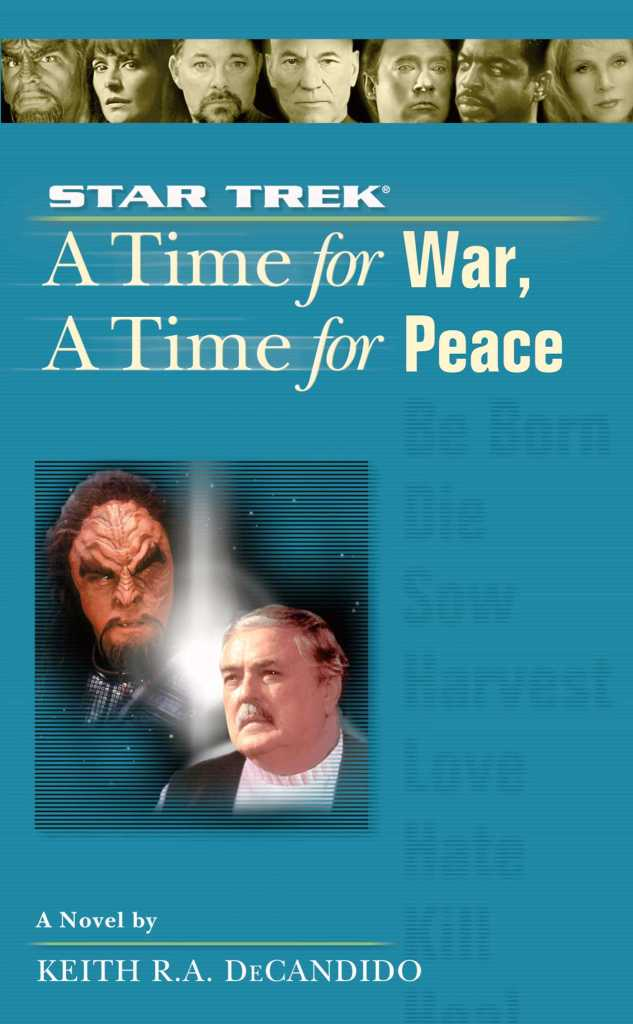 Star Trek: The Next Generation: 9 A Time For War, A Time For Peace Review by Motionpicturescomics.com