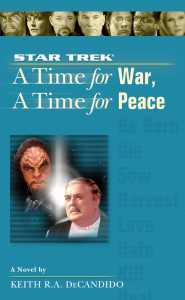 "a star trek the next generation time 9 a time for war a time for peace 9780743499972 hr 185x300 ""Star Trek: The Next Generation: 9 A Time For War, A Time For Peace"" Review by trek.fm"
