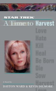 "cvr9780743482981 9780743482981 hr 185x300 ""Star Trek: The Next Generation: 4 A Time To Harvest"" Review by Literary Treks"