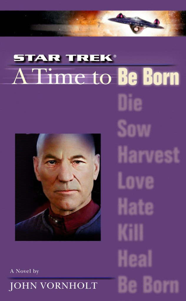 Star Trek: The Next Generation: 1 A Time To Be Born Review by Motionpicturescomics.com