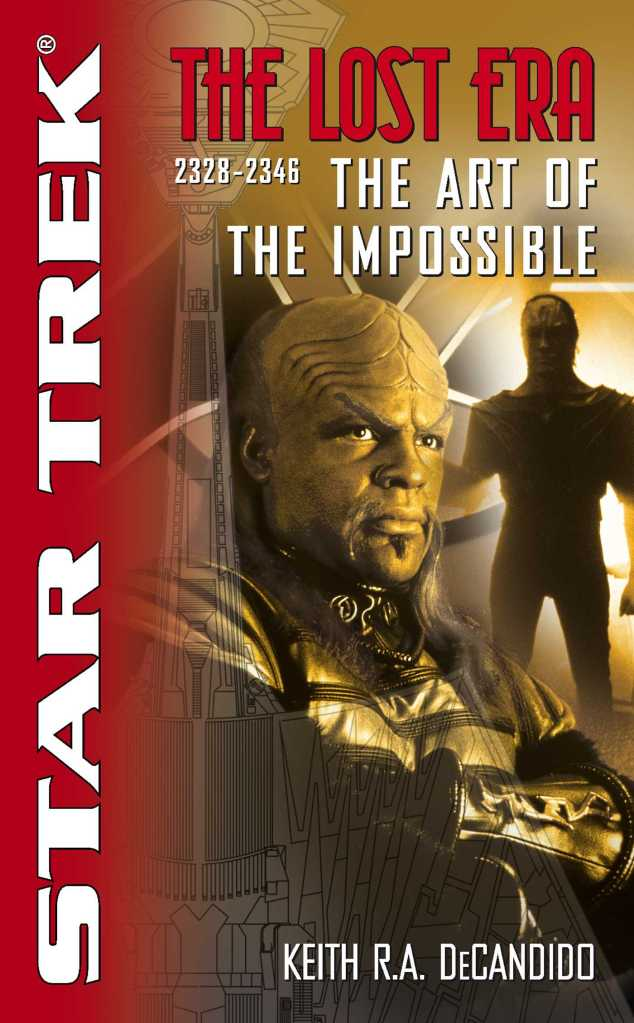 Star Trek: The Lost Era: The Art Of The Impossible Review by Positivelytrek.libsyn.com