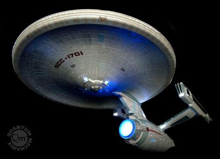 QMx Unveils 2009 Star Trek Movie Enterprise Replica