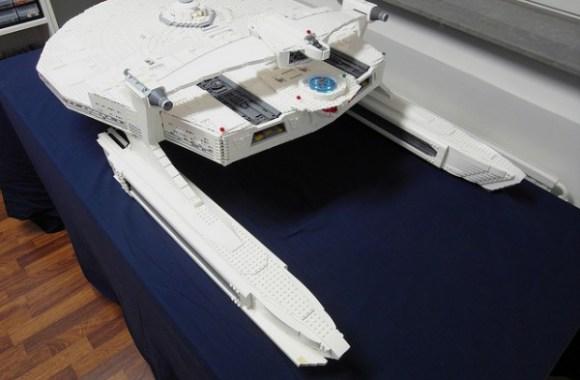 USS Reliant in LEGO