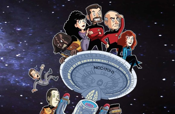"New Trek Animated Series Announced by author of ""Star Trek: The Next Generation: Warped: An Engaging Guide to the Never-Aired 8th Season"""