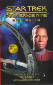 "41YMSRC0PPL 187x300 ""Star Trek: Deep Space Nine: Millennium: 3 Inferno"" Review by Literary Treks"