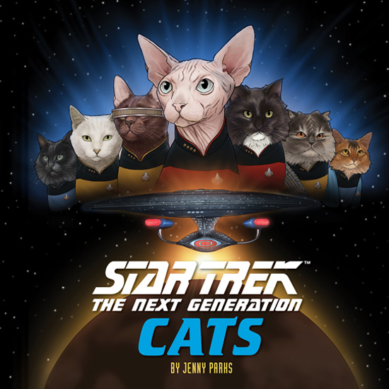 "insetcatscover Star Trek: The Next Generation: Cats"" Review by TrekCore"