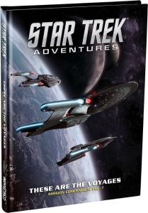 Star Trek Adventures   These Are the Voyages Volume 1 cover 209x300 Marco Rafala on Continuing Mission