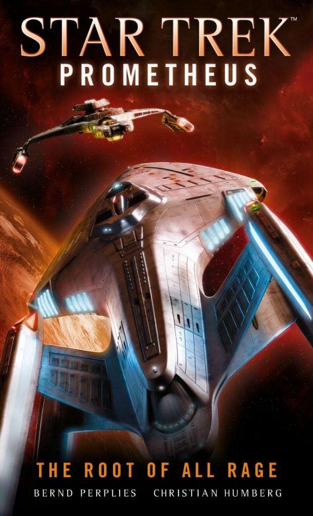 "Titan Books Star Trek Prometheus The Root of All Rage 621x1024 ""Star Trek: Prometheus: The Root of All Rage"" Review by Literary Treks"
