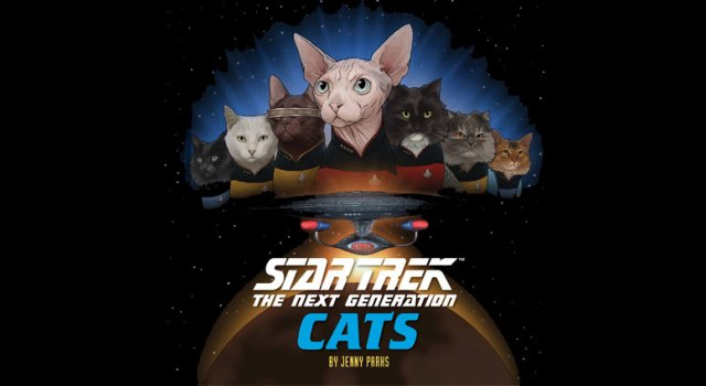 Star Trek The Next Generation Cats Review by TrekMovie
