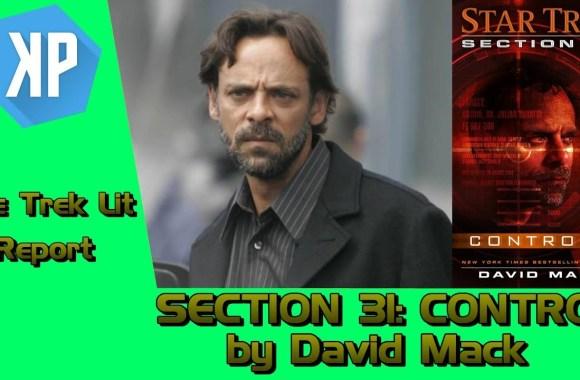 TREK LIT REVIEWS: Section 31: Control by David Mack