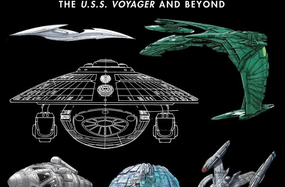 "Out Today: ""Star Trek Designing Starships Volume 2: Voyager and Beyond"""