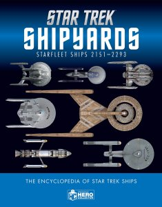 "91l6Zu49kzL 235x300 Out Today: ""Star Trek Shipyards Starfleet Starships: 2151 2293"""