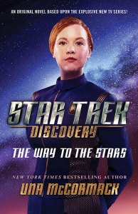 "Inset disco stars cover 194x300 ""Star Trek: Discovery: The Way To The Stars"" Review and Interview with Una McCormack by TrekCore.com"