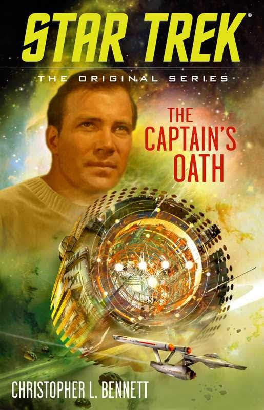 "Gallery Books Star Trek The Original Series The Captains Oath ""Star Trek: The Original Series: The Captain's Oath"" Review by Trek Today"