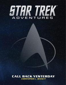 "STAR TREK ADVENTURES CALL BACK YESTERDAY 232x300 Out Today: ""Star Trek: Adventures: Call Back Yesterday"""