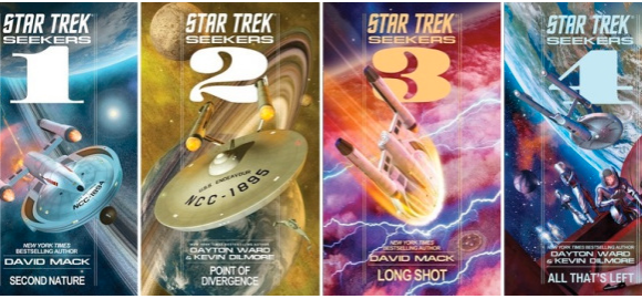"""Star Trek Book Deal Alert! """"The Fall"""" and """"Seekers"""" for only .99!"""